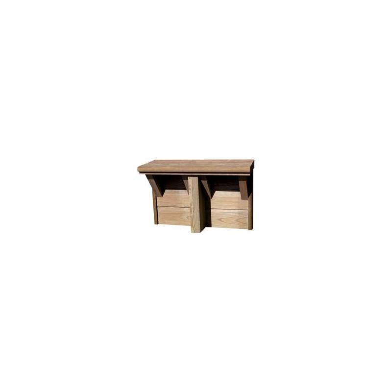 Piscine bois reseau piscine rectangulaire haute qualite for Piscine autoportee bois rectangulaire