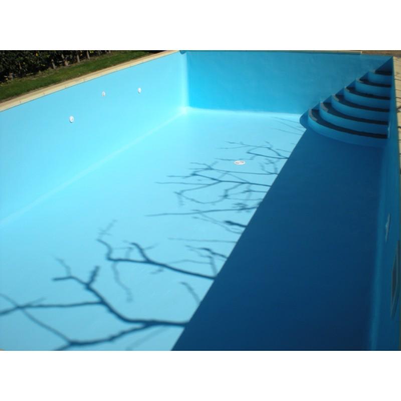 Coating pool sea water piscine for Peinture piscine caoutchouc