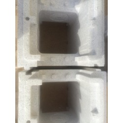 KIT PISCINE POLYSTYRENE COMPLET 12 X 6 X 1.50