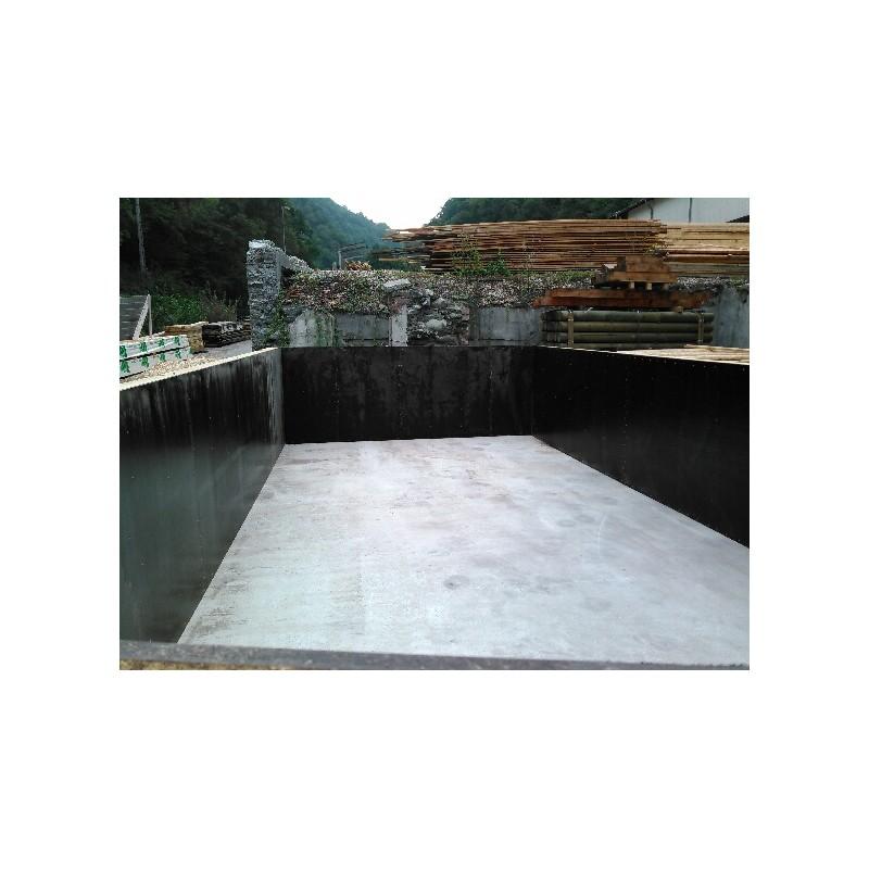 Kit complet piscine enterre local technique piscine with - Jardin avec piscine semi enterree perpignan ...