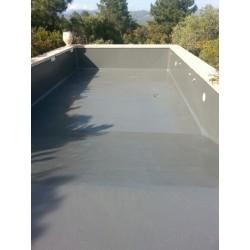 Peintures r seau piscine for Peinture pour escalier en beton