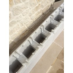 KIT PISCINE POLYSTYRENE COMPLET 8 X 4 X 1.50 VERSION ECONOMIQUE
