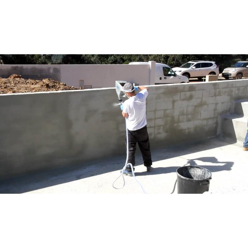 Enduit ciment sur parpaing video awesome enduit with for Ciment pour parpaing