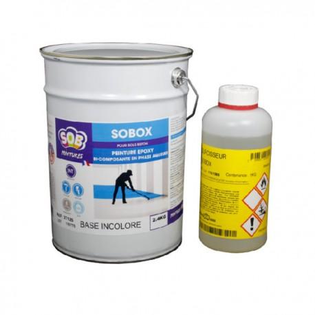 SOBOX (Epoxy à l'eau)