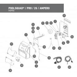 Pièces détachées POOLSQUAD / PRO / 2G / AMPERO