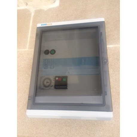 Coffret électrique piscine CCEI panorama
